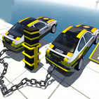 Chained Cars Impossible Stunts - Car Driving 2021