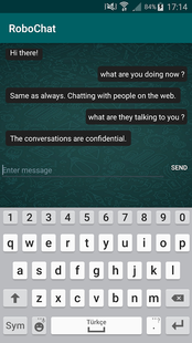 Screenshots - Chat With Artificial Intelligence