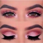 cheap makeup - eyeliner & eyeshadow makeup look