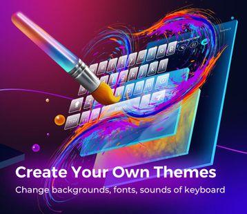 Screenshots - Cheetah Keyboard -   Emoji,Swype,DIY Themes