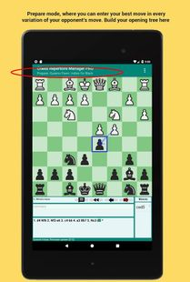 Screenshots - Chess Repertoire Manager Free - Build, Train, Play