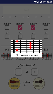 Screenshots - Chords Transposer Free