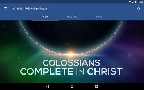 Screenshots - Christian Fellowship Church