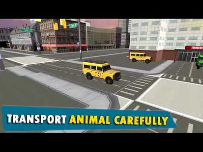 Video Image - City Animal Transport Truck Rescue Dog games