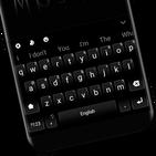 Classic Business Black White Keyboard Theme