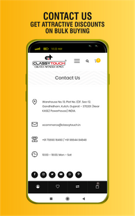 Screenshots - Classy Touch India - Online Shopping App