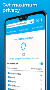Screenshots - Cliqz – the Privacy Browser