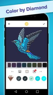 Screenshots - Color by Diamond - Circle Art Color by Number Game