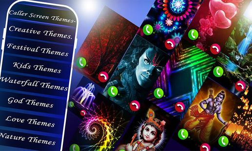 Screenshots - Color Call Flash - LED Caller Screen mobile theme