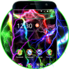 Colorful Neon Thunder Theme