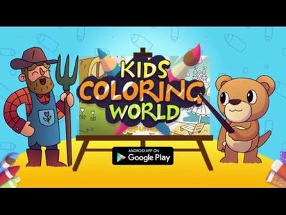 Video Image - Coloring Book For Kids