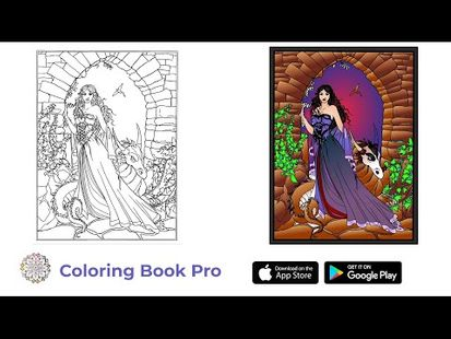Video Image - Coloring Book Pro - Adult Coloring Pages to Relax