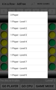 Screenshots - 4 in a Row