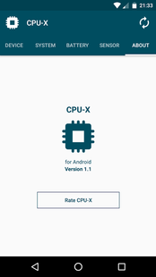 Screenshots - CPU-X