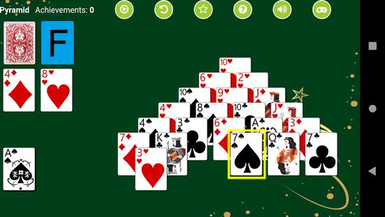Screenshots - Pyramid Solitaire
