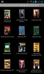 Screenshots - Comics Reader