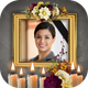 Condolence Photo Frames with Candle