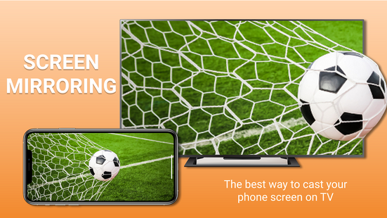 Screenshots - Connect the phone to TV - Screen mirroring for TV