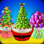 Cooking Rainbow & Unicorn Christmas Cupcakes! DIY