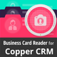 Copper CRM Business Card Reader