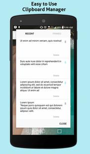 Screenshots - CopyClip - Clipboard Manager