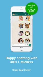 Screenshots - Corgi Dog Stickers WAStickerApps