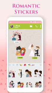 Screenshots - Couple Love Romance Sticker: WAStickerApps Lovely