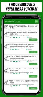 Screenshots - Coupons For Groupon app-Dales & Discount-(75% off)