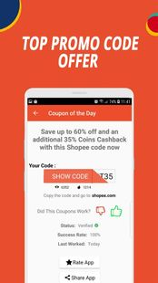 Screenshots - Coupons For Shopee  _Hot Deals & Discounts_