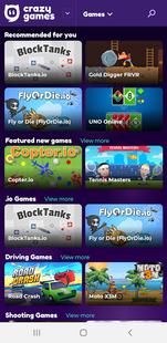 Screenshots - Crazy Games - Remastered For App