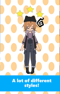Screenshots - Creanime (anime character maker)