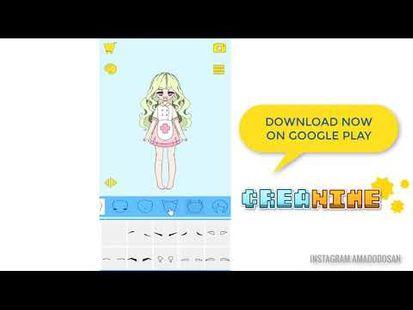 Video Image - Creanime (anime character maker)