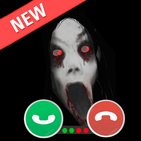 Creepy Video Call from Slender Ghost Horror Prank