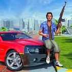 Crime Miami Gangster Car Driving & Shooting