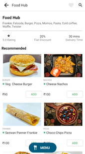 Screenshots - Crisfood Food Order & Delivery