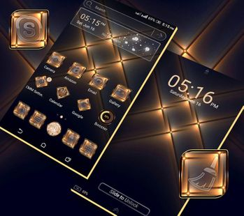 Screenshots - Crystal Light Launcher Theme
