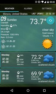 Screenshots - Custom Weather Alerts