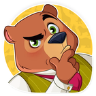 🧸 Cute Bear Stickers For WAStickerApps