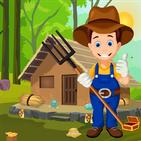 Cute Farmer Rescue Best Escape Game -268