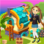 Cute Girl Escape From Fantasy House Best Escape318