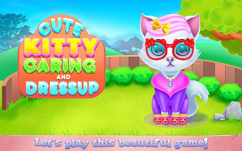 Screenshots - Cute Kitty Caring and Dressup