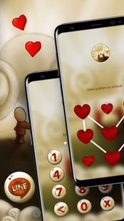 Screenshots - Cute Love Launcher Theme