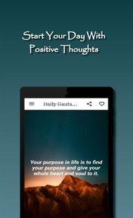 Screenshots - Daily Gautama Buddha Quotes - quotes of wisdom