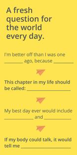 Screenshots - Daily Haloha - Self Reflection Questions