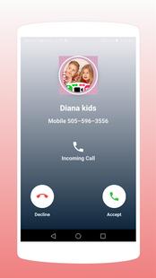 Screenshots - Daina kids Fake Calling Apps