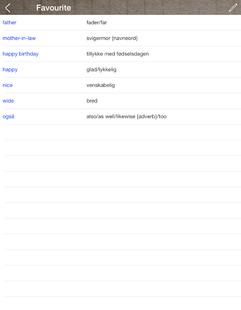Screenshots - Danish English Dictionary & Translator Free