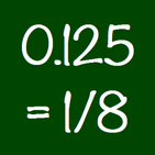 Decimal to Fraction Converter Calculator