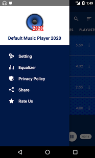Screenshots - Default Music Player 2020
