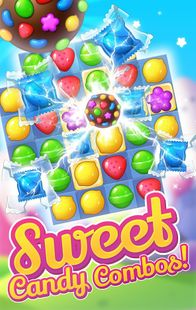 Screenshots - Delicious Sweets Smash : Match 3 Candy Puzzle 2020