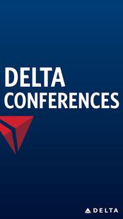 Screenshots - Delta Conferences